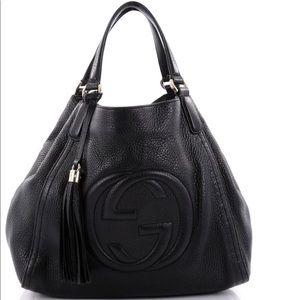 Gucci SOHO black leather purse